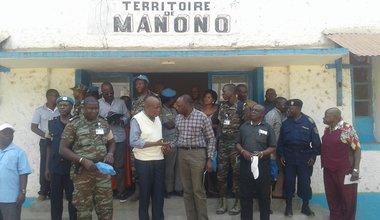 La MONUSCO poursuit sa mission d'évaluation sécuritaire dans le Tanganyika