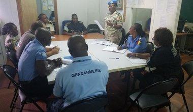 Les officiers de la police des Nations Unies formés sur la thématique de l'exploitation et abus sexuels