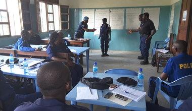 UNPOL forme des formateurs relais de la Police nationale congolaise