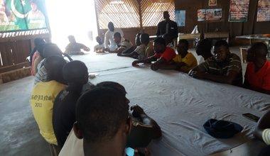 Les jeunes de Kavimvira et Rugenge engagés pour la paix et la sécurité dans leur quartier