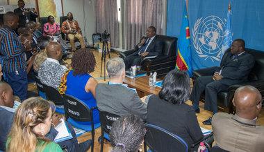 A l'initiative de la MONUSCO, les agences du Système des Nations Unies au Sud Kivu participent à une rencontre stratégique d'échange avec le gouvernement du Sud-Kivu
