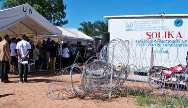 La police de la MONUSCO appuie  la Police Nationale Congolaise dans la lutte contre l'insécurité à Kalemie