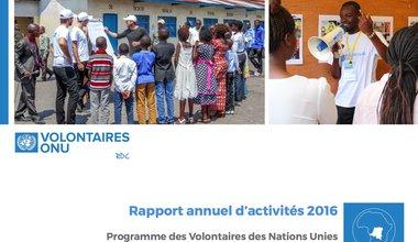 Rapport annuel d'activités 2016 du Programme des Volontaires des Nations Unies en RD Congo