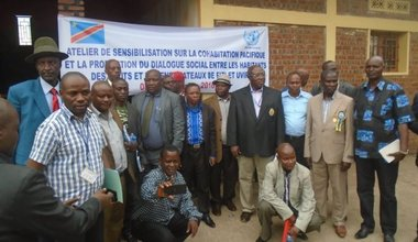 MONUSCO facilitates peaceful cohabitation and social dialogue between the Babembe and Banyamulenge communities in the South-Kivu province