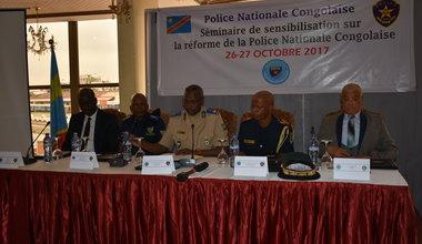 La Police MONUSCO sensibilise sur la réforme de la Police Nationale Congolaise