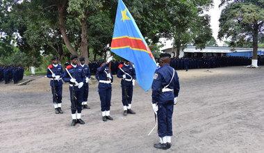 Sortie de promotion à l'Ecole de police de Kasangulu : UNPOL apporte son expertise technique et pédagogique