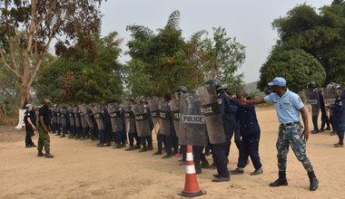 La Monusco forme 300 policiers en maintien et rétablissement de l'ordre