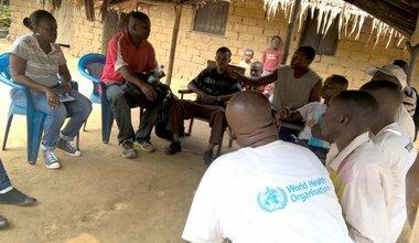 Territoire de Walikale : L'OMS et la MONUSCO au chevet des populations d'Oninga affectées par une épidémie de diarrhée Cholériforme.