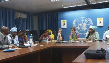 MONUSCO Gender Section organized a thematic round table