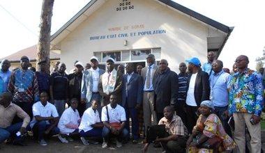 Goma Urban Council signs the Paris Declaration on HIV