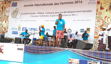 HIV sensitization at the centre of Women's Day commemoration in Goma