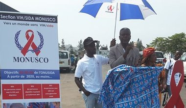 United Nations staffs in Goma sensitized on HIV prevention