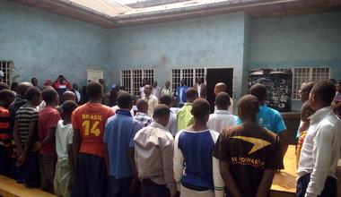 Goma: Une Ecole pas comme les autres à l'Etablissement de Garde pour Enfants de la Prison Muzenze