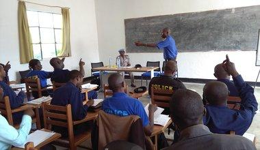 Formation des formateurs de la Police nationale congolaise à Bukavu et Kinshasa