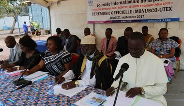 Jeunes et leaders religieux: acteurs de la paix à part entière