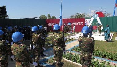 La Province de l'Ituri rend hommage aux Casques Bleus