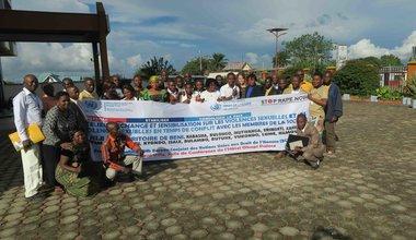 La MONUSCO sensibilise sur les violences sexuelles et les violences sexuelles en temps de conflit