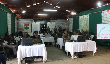 MONUSCO provides English and Computer skills to FARDC