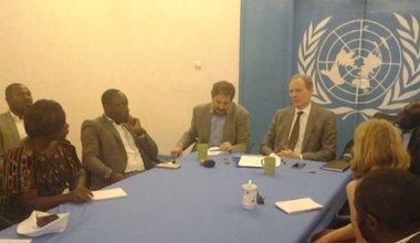 Lubumbashi  Andrew Gilmour  exprime sa préoccupation face à la restriction des  libertés fondamentales