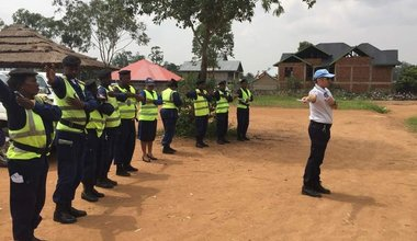 La MONUSCO appuie la Police de la Circulation Routière de Béni pour réduire les accidents routiers