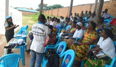 La MONUSCO sensibilise les femmes d'Uvira sur leurs droits