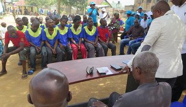 Les détenus de la prison centrale de Bunia saluent les efforts des Nations unies