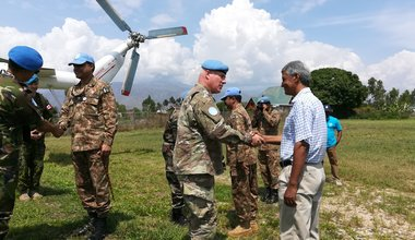 Uvira, Sud Kivu : Le conseiller militaire adjoint des Nations Unies visite Uvira