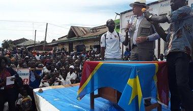 La MONUSCO poursuit son appui à la lutte contre Ebola en Ituri. Photo MONUSCO/Isaac Remo Yope