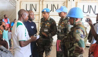 The DRC Armed Group Leader Sheka handed over by MONUSCO to the Congolese Authorities