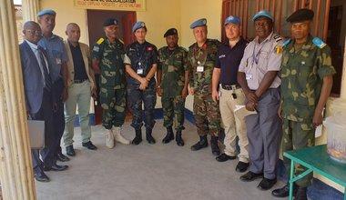 Tanganyika : La MONUSCO ouvre un bureau de colocalisation au Palais de justice militaire de Kalemie. Photo MONUSCO/Jonathan Kadima