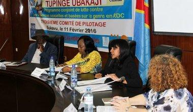 Sud Kivu: Comité de pilotage du Programme Conjoint de lutte contre l'impunité des violences sexuelles