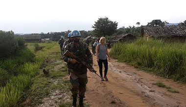 Ensuring the protection of populations who are victims of conflicts in North Kivu, DRC