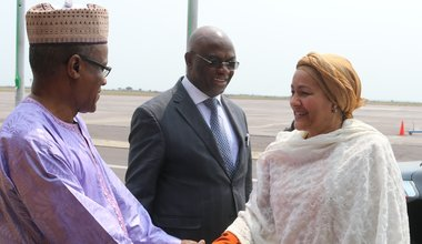 Amina J Mohammed depuis ce lundi en RDC.