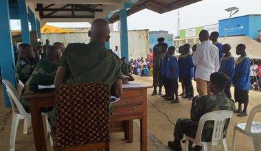 55 prévenus condamnés à perpétuité en Ituri, fruit de la lutte contre l'impunité appuyée par la MONUSCO. Photo MONUSCO/Section d'appui à la justice