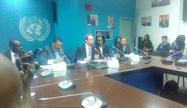 Opening remarks by UN High Commissioner for Human Rights Zeid Ra'ad Al Hussein at a press conference during his mission to the Democratic Republic of the Congo