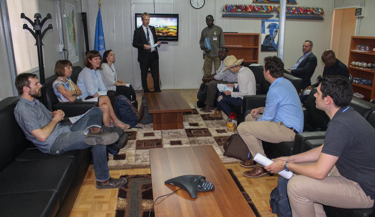 Sud-Kivu : Une délégation de la 5ème Commission de l'Assemblée Générale de l'ONU évalue le fonctionnement de la MONUSCO dans la province