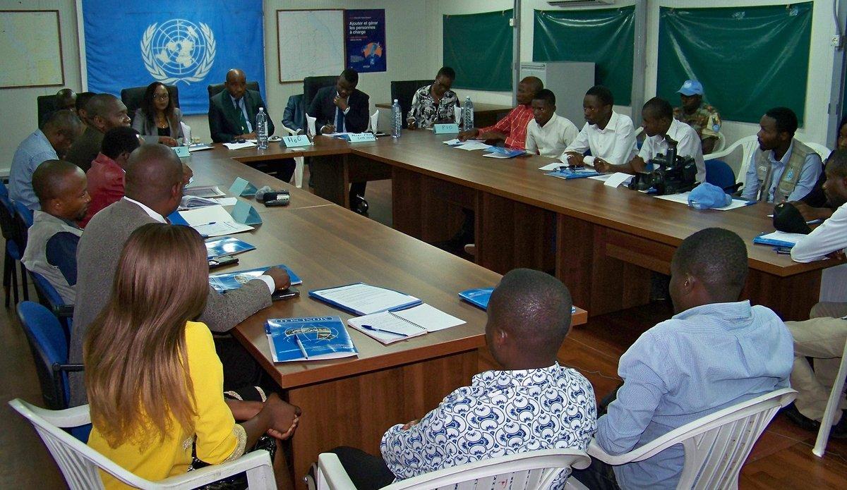 La MONUSCO informe les medias sur les projets de réduction de violences communautaires ( RVC)