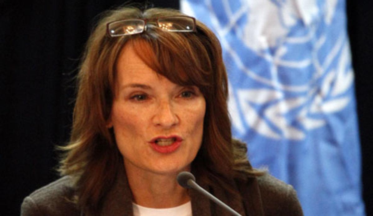 Georgette Gagnon, Directrice de la Division de la coopération technique et des opérations de terrain du Haut-Commissariat des Nations Unies aux droits de l'Homme. Photo UN