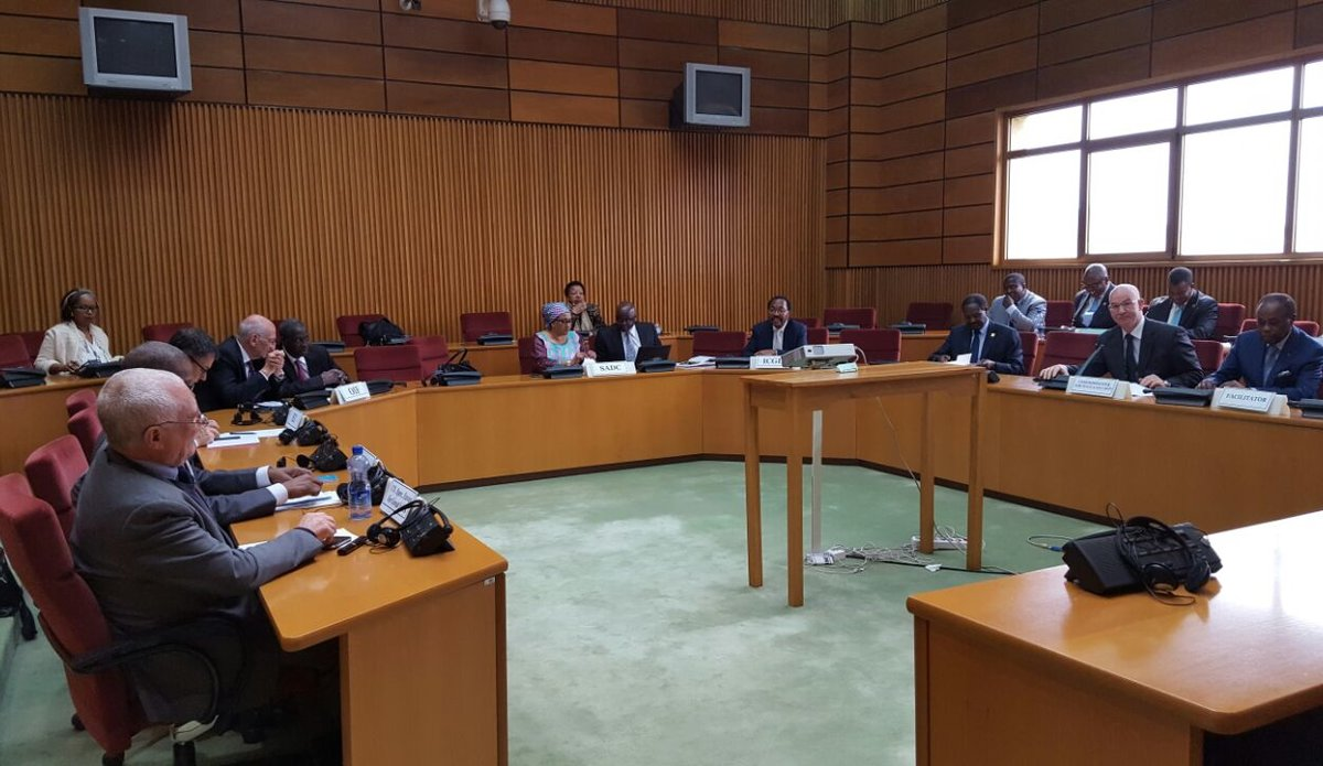 Inaugural Meeting of the Support Group for the Facilitation of the National Dialogue in the Democratic Republic of Congo