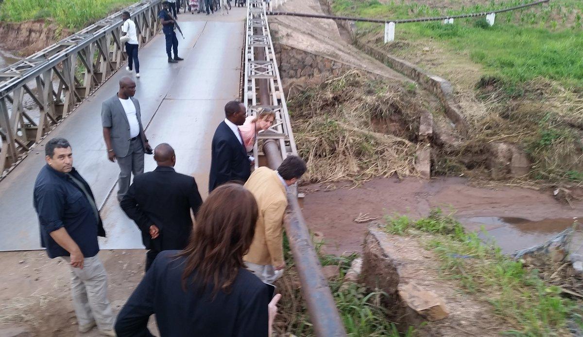La MONUSCO appuie la réhabilitation du pont Kituku