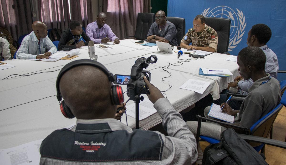 La MONUSCO explique à la presse sa stratégie de protection de la population