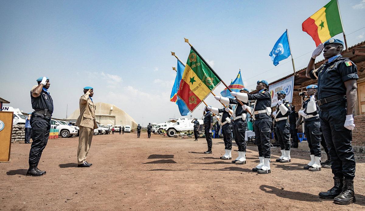 Nord Kivu : une centaine de policiers sénégalais décorés de la médaille des  Nations Unies | MONUSCO