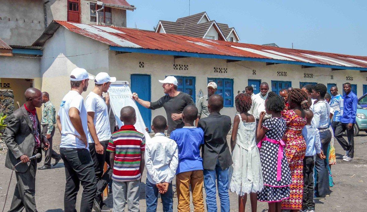 Le programme des Volontaires des Nations Unies (VNU) en RDC