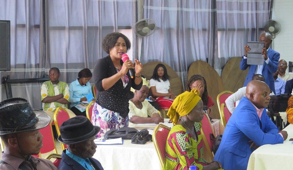 La MONUSCO initie une réflexion sur l'action pour le climat en province du Tanganyika. Photo MONUSCO/Marcelline COMLAN