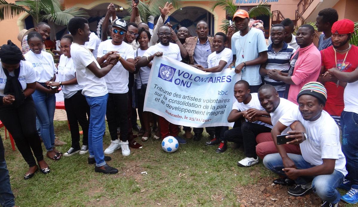 Tribune des artistes volontaires de Butembo sur la consolidation de la paix et le développement intégral
