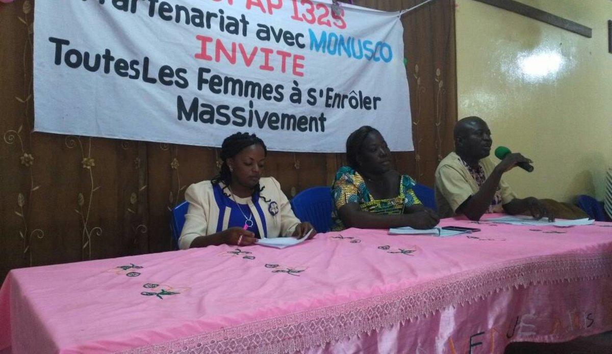 Province de la Tshopo : Les femmes se mobilisent pour les prochaines élections