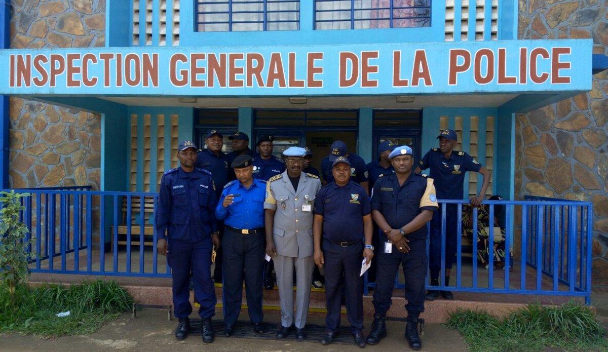 Formation des Inspecteurs de police en contrôle et évaluation de la gestion sécuritaire des manifestations publiques