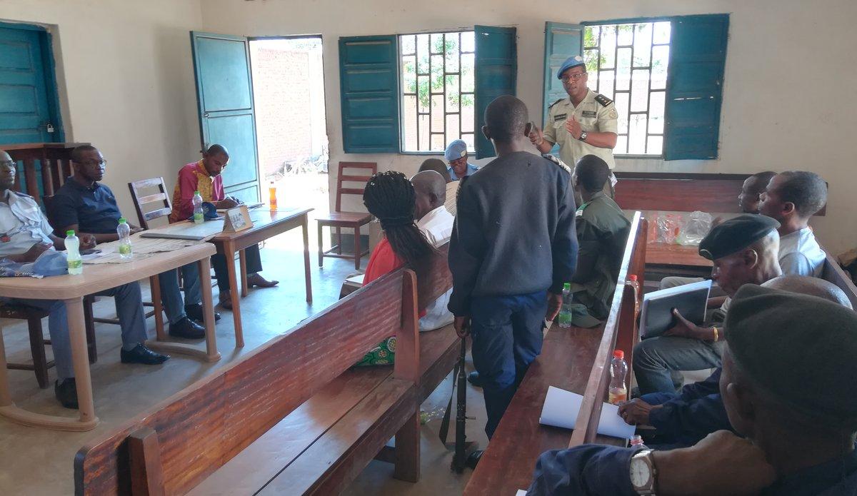 Uvira, Sud Kivu : Le personnel administratif de la prison formé sur les droits de l'homme