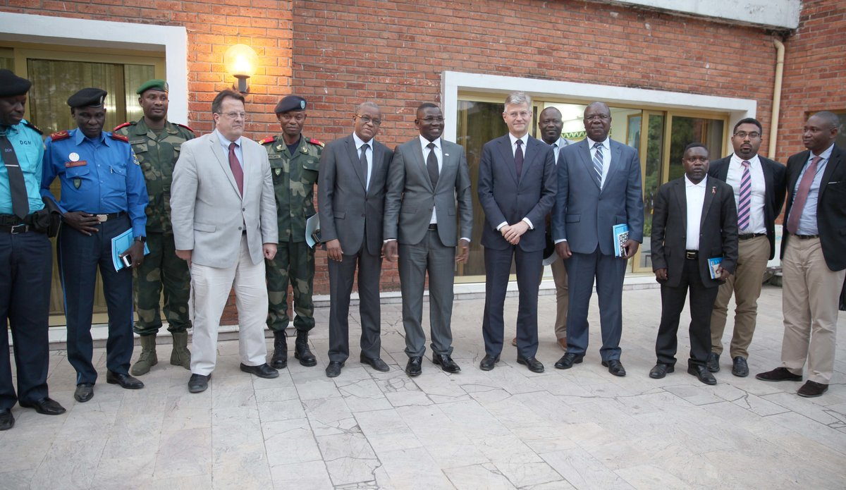 Fin de la visite de Jean-Pierre Lacroix au Nord-Kivu.