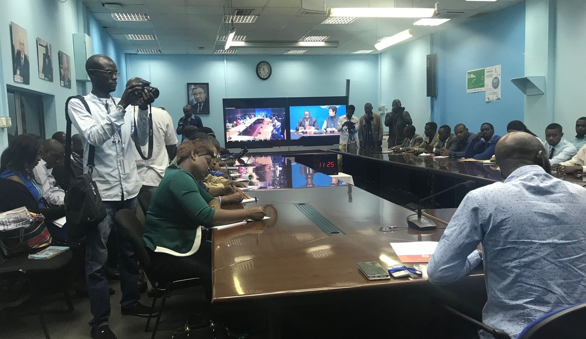Compte-rendu de l'actualité des Nations Unies en RDC au cours de la semaine du 22 au 29 novembre 2017